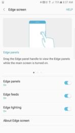 Samsung Galaxy Note 7 AH NS screenshots edge 1