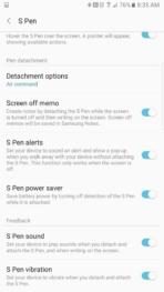 Samsung Galaxy Note 7 AH NS screenshots s pen 05