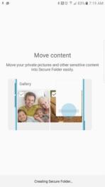 Samsung Galaxy Note 7 AH NS screenshots secure folder