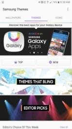 Samsung Galaxy Note 7 AH NS screenshots themes 2