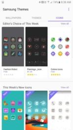Samsung Galaxy Note 7 AH NS screenshots themes 3