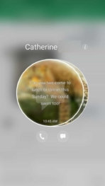 Samsung Galaxy Note 7 AH NS screenshots ui edge messages
