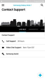 Samsung Galaxy Note 7 AH NS screenshots ui samsung plus 1