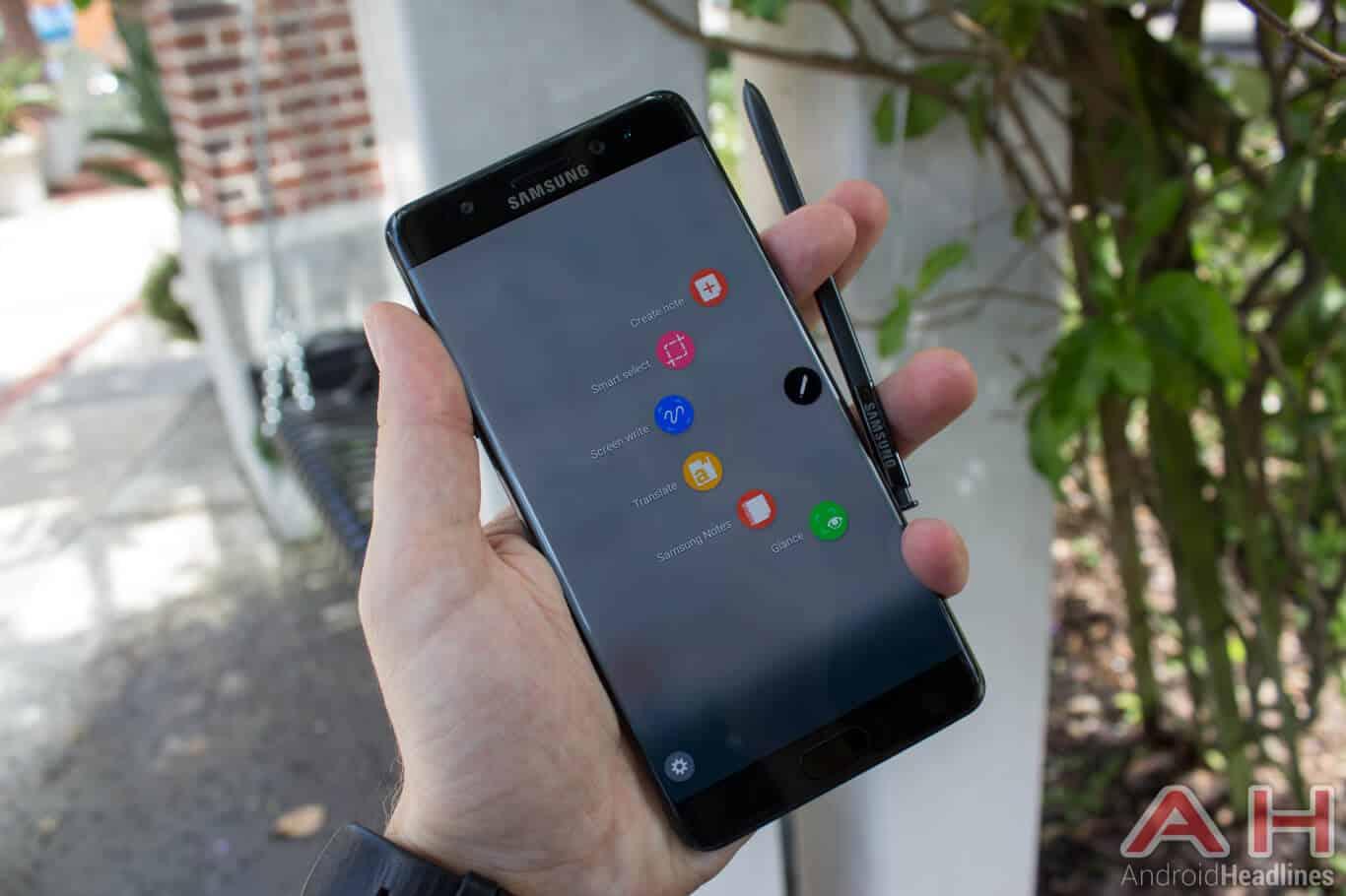 Samsung Galaxy Note 7 AH NS software