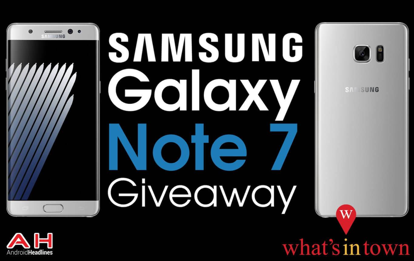 Samsung Galaxy Note 7 Giveaway Android Headlines 5