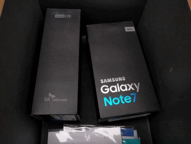 Samsung Galaxy Note 7 retail packaging leak 1