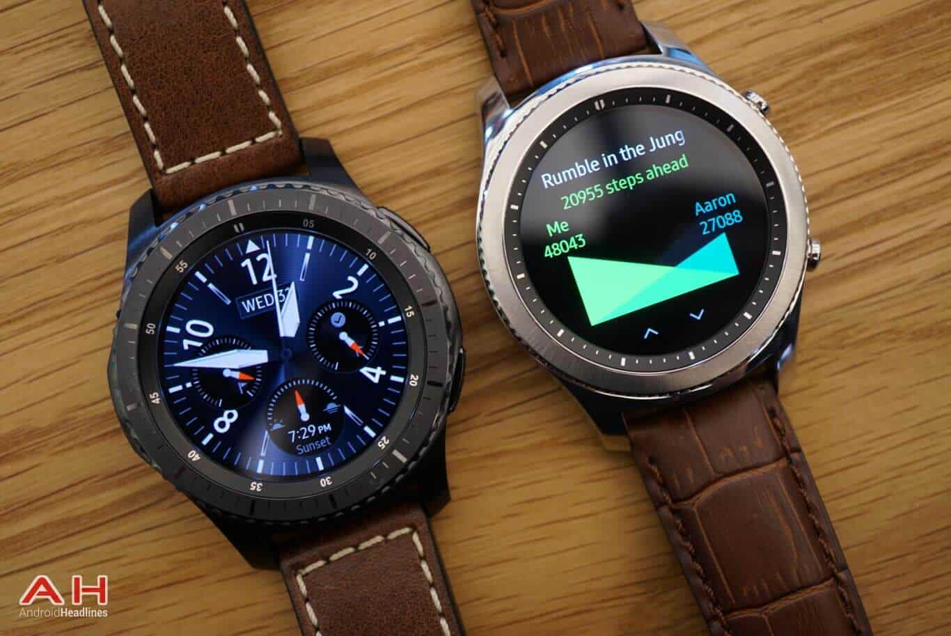 samsung gear s3 classic frontier up for pre order in the. Black Bedroom Furniture Sets. Home Design Ideas