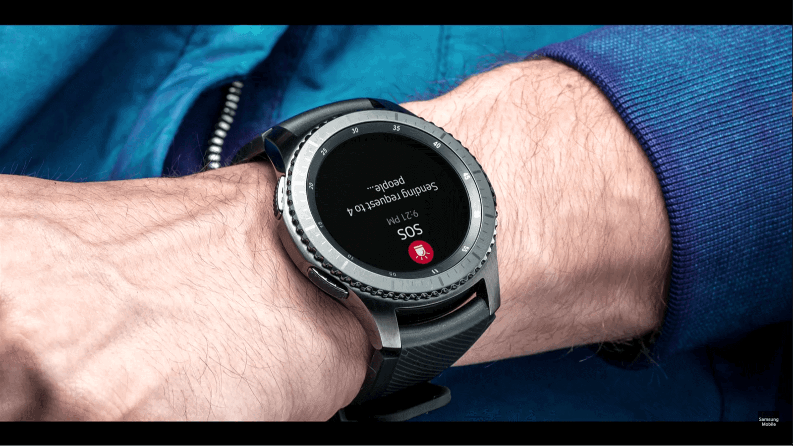 samsung glympse partner up for the gear s3 39 s sos feature android news. Black Bedroom Furniture Sets. Home Design Ideas