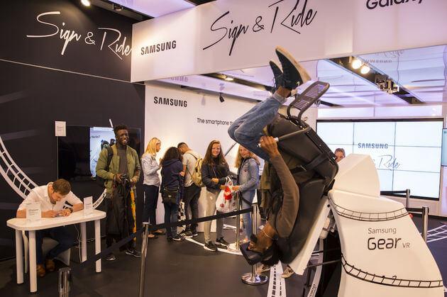 Samsung Gear VR Icarus