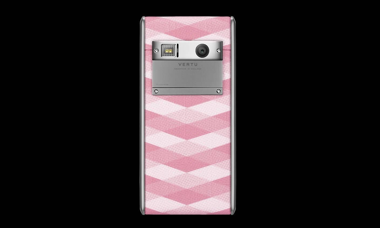 Vertu Aster Chevron Pink 2
