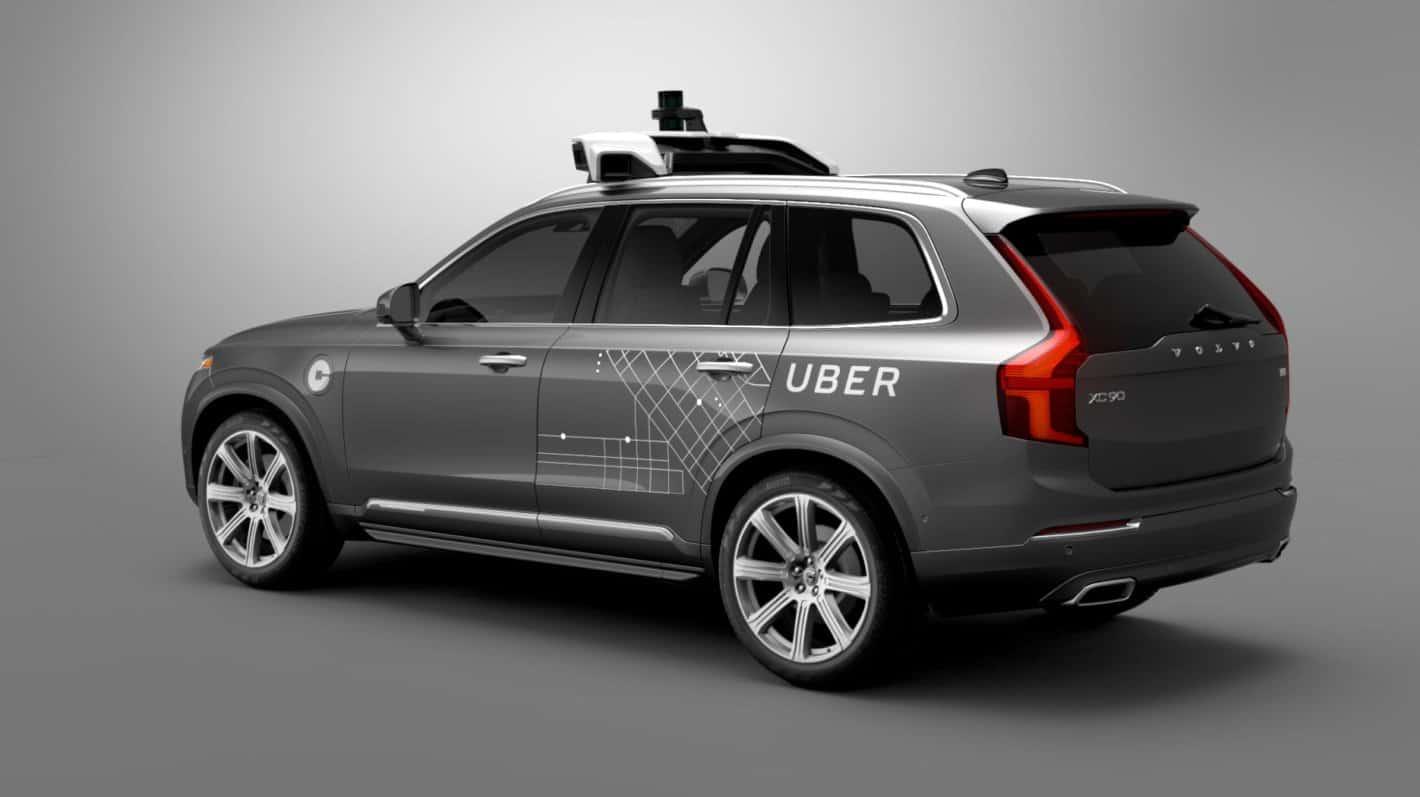 Volvo XC90s Uber 1