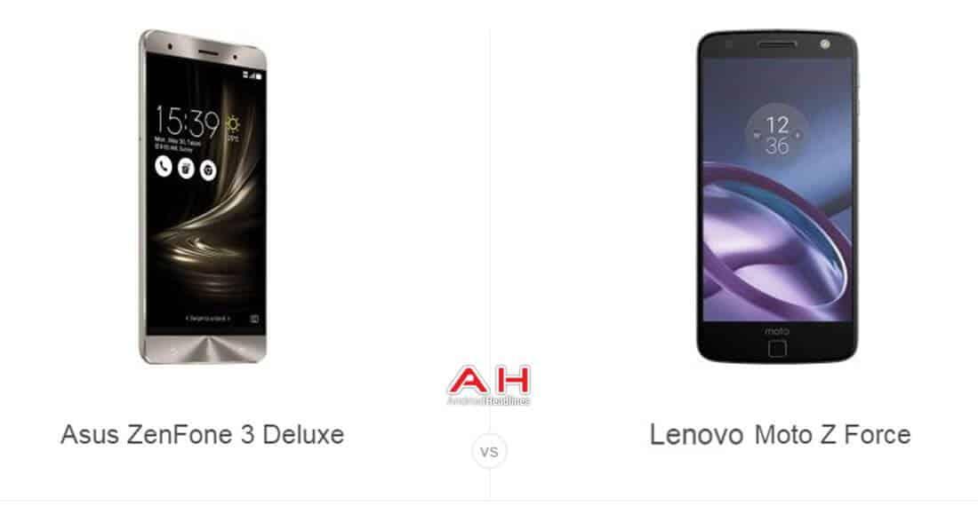 ZenFone 3 Deluxe vs Moto Z Force cam2 AH