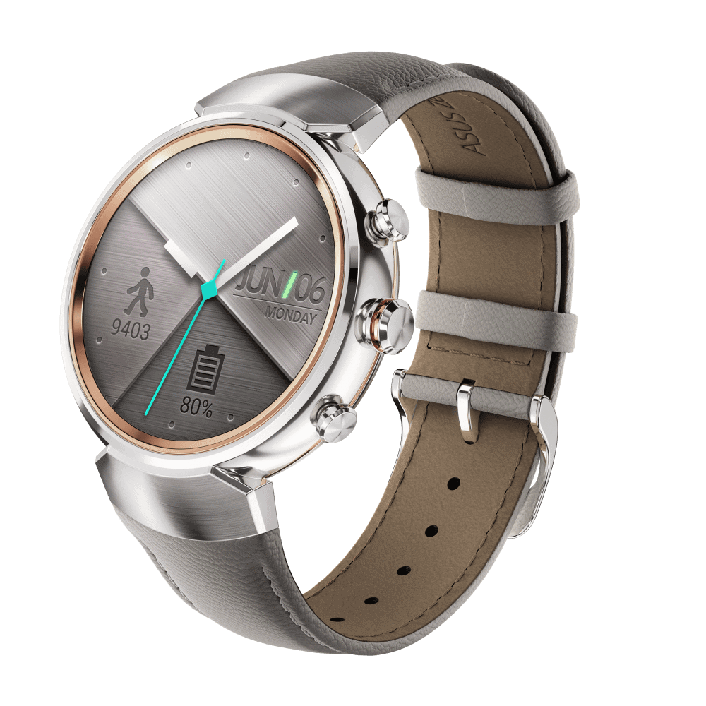 ZenWatch 3 Silver with leather WI503Q