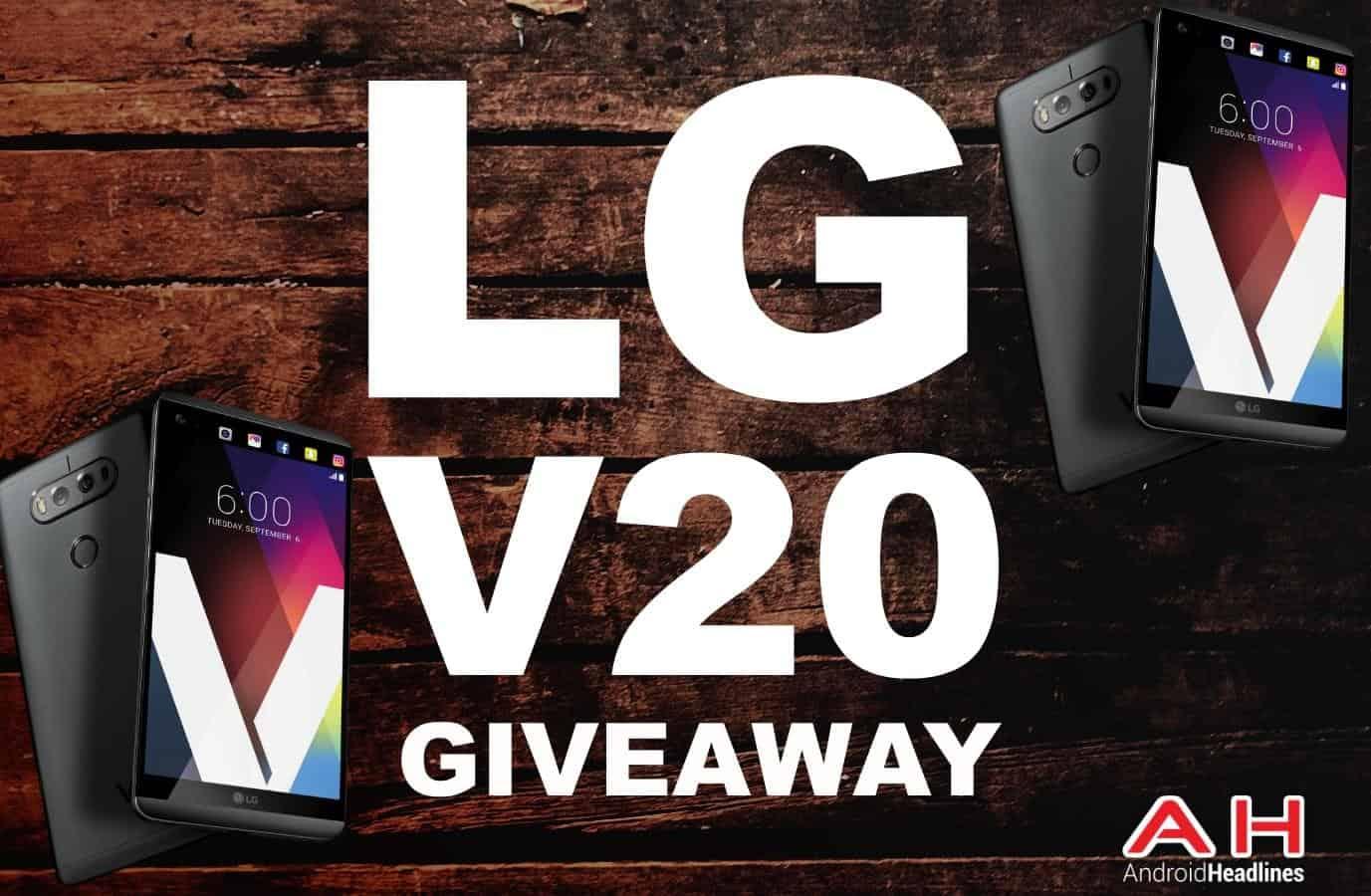 مسابقه لربح هاتف LG V20