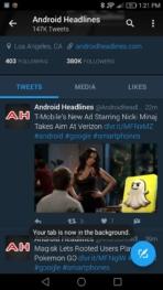 Chrome Beta Keep Tab screens AH 2