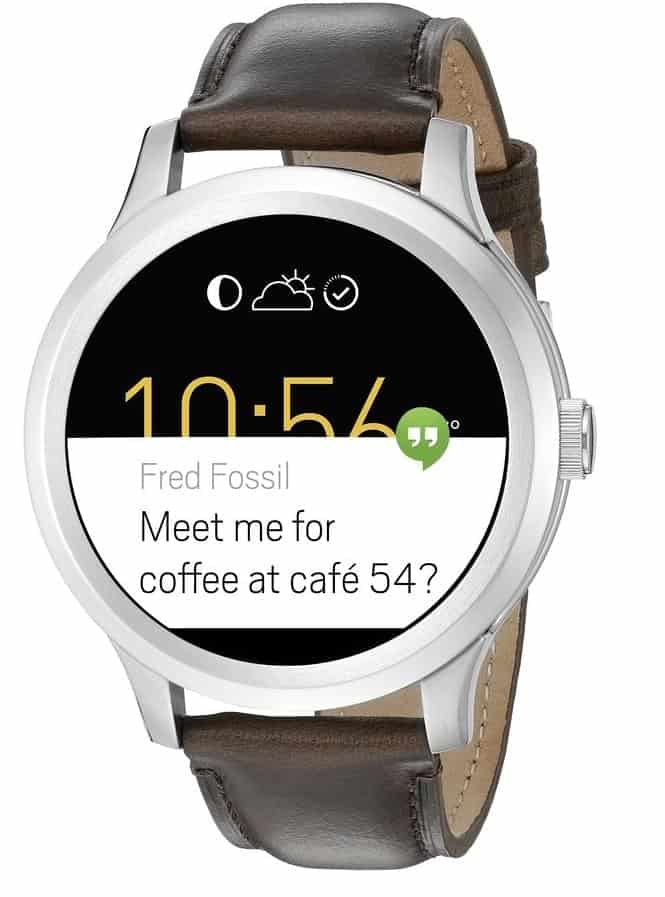 Deal fossil q founder smartwatch 192 50 9 30 16 androidheadlines