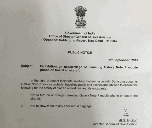 galaxy-note-7-india-airline-dgca-advisory-kk