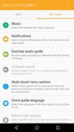 Gear IconX App Extras 2