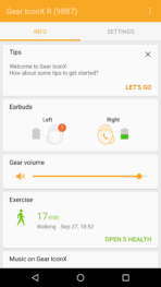 Gear IconX App Extras 3