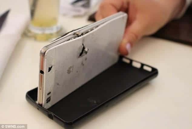 Huawei P8 Lite saves a mans life 3