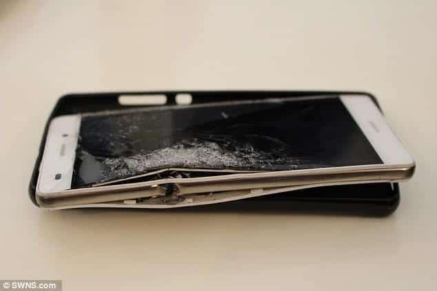Huawei P8 Lite saves a mans life 4