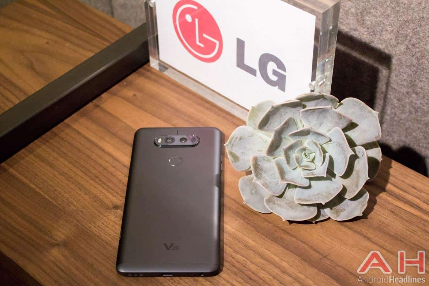 The Lg V20 Will Officially Be Heading To Sprint Android News