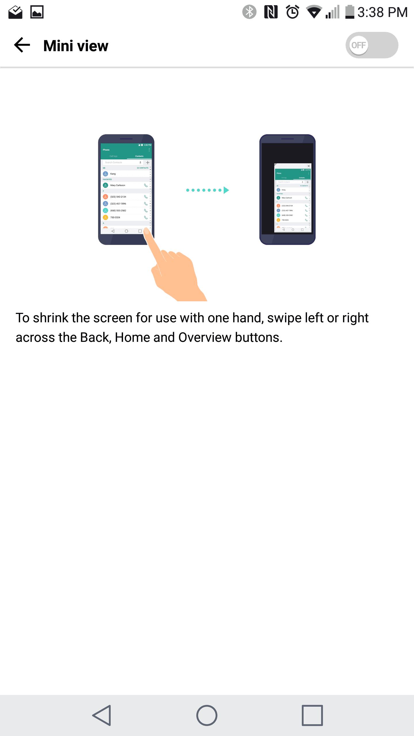LG V20 AH NS screenshots display 4