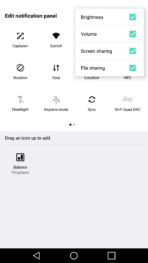 LG V20 AH NS screenshots notification shade 3