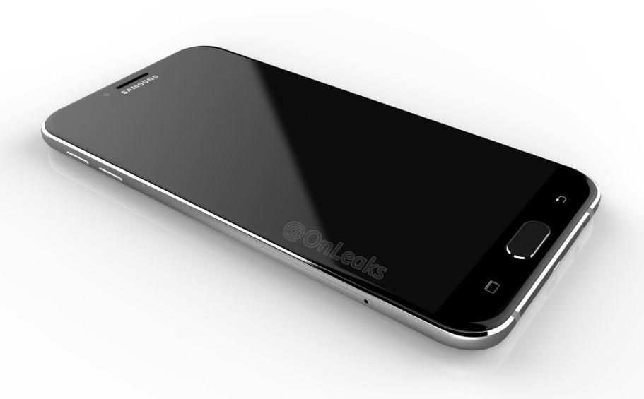 Samsung Galaxy A8 2016 Render 1