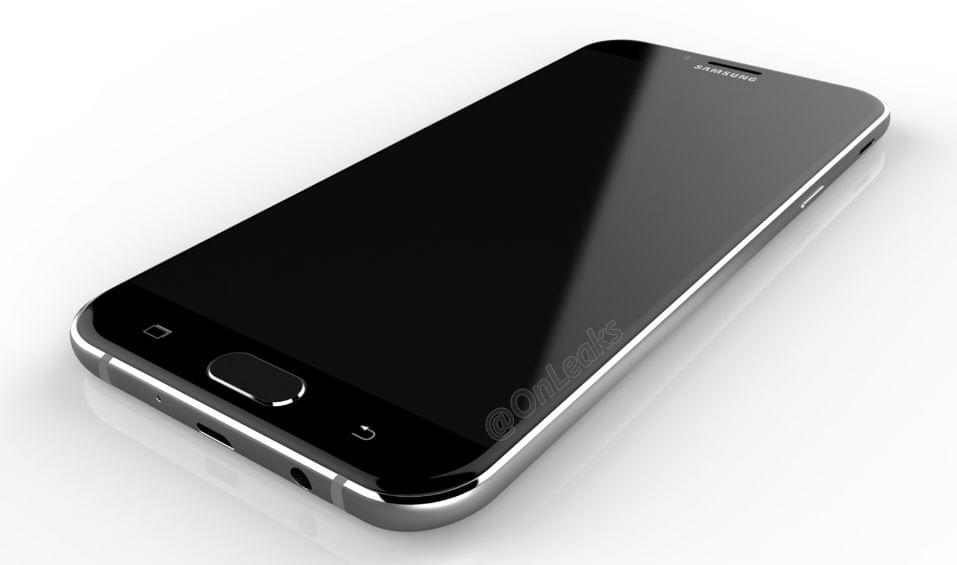 Samsung Galaxy A8 2016 Render 2