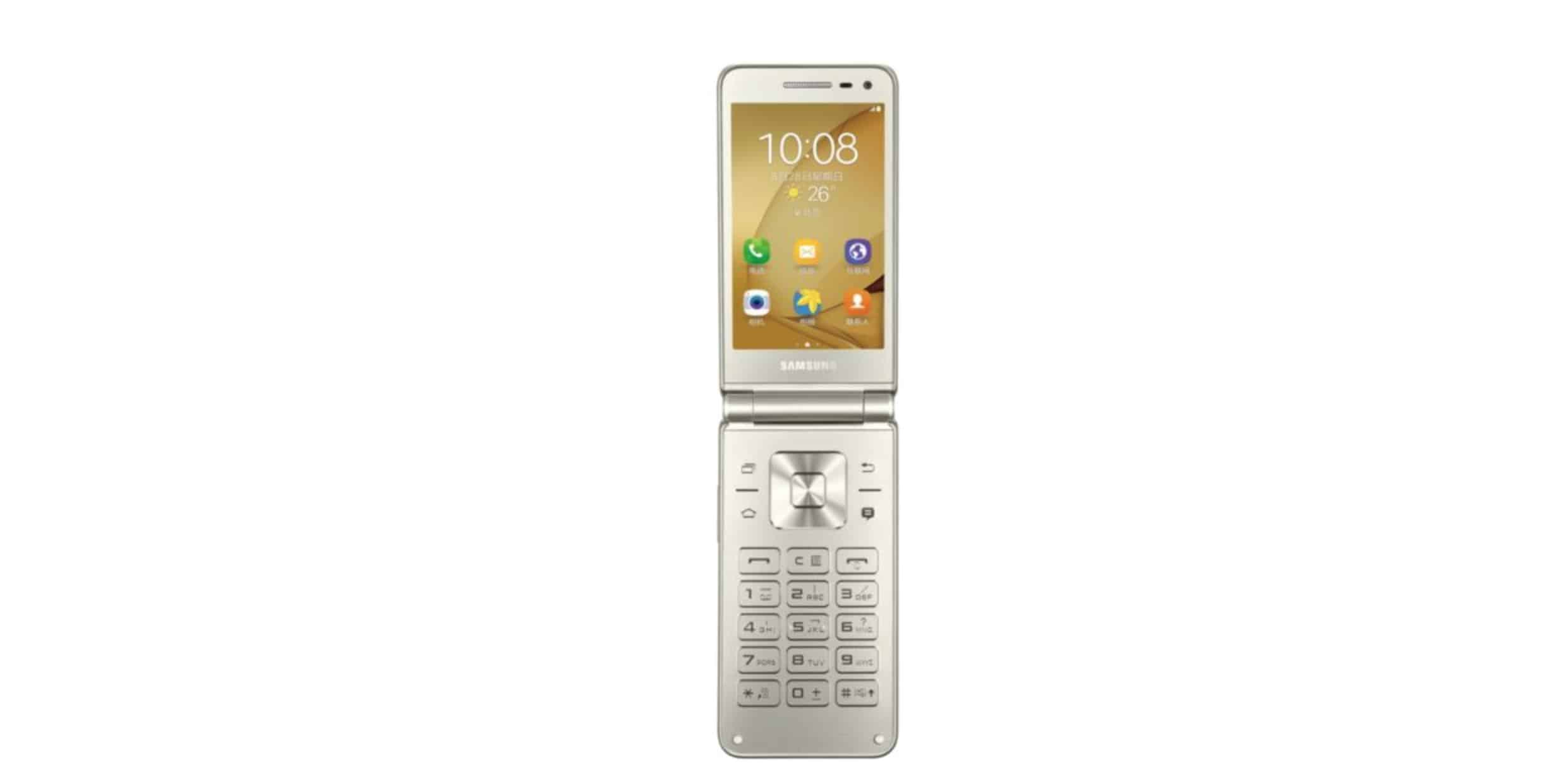 Samsung Galaxy Folder 2 SM G1600 02