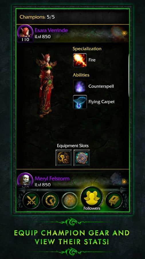 WoW Legion Companion 5