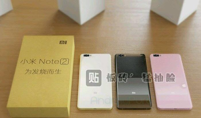 Xiaomi Mi Note 2 colors 700x410