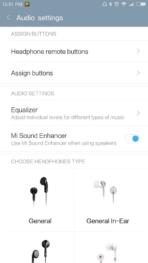 Xiaomi Redmi Pro AH NS screenshots audio 1