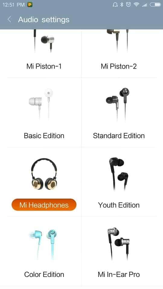 Xiaomi Redmi Pro AH NS screenshots audio 3