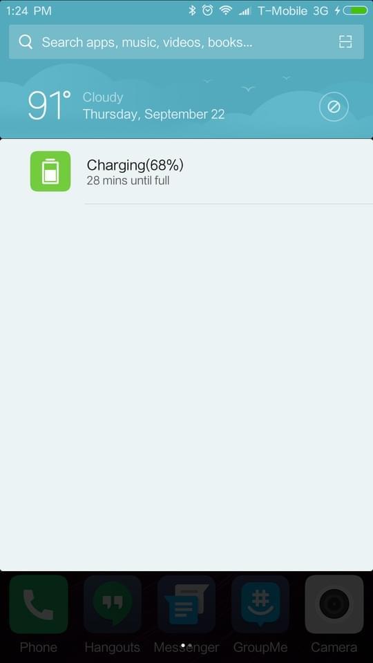 Xiaomi Redmi Pro AH NS screenshots battery charge