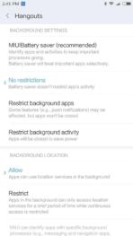 Xiaomi Redmi Pro AH NS screenshots battery saver