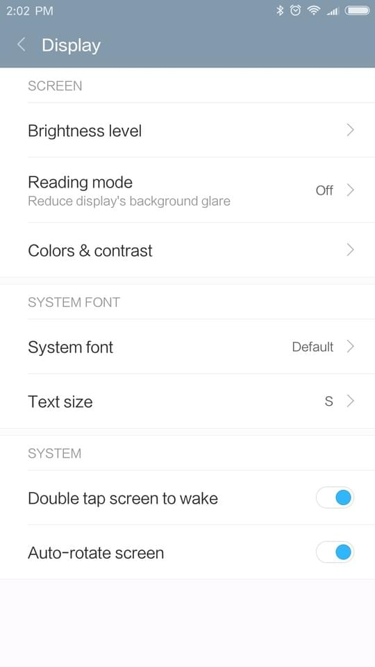 Xiaomi Redmi Pro AH NS screenshots display 1
