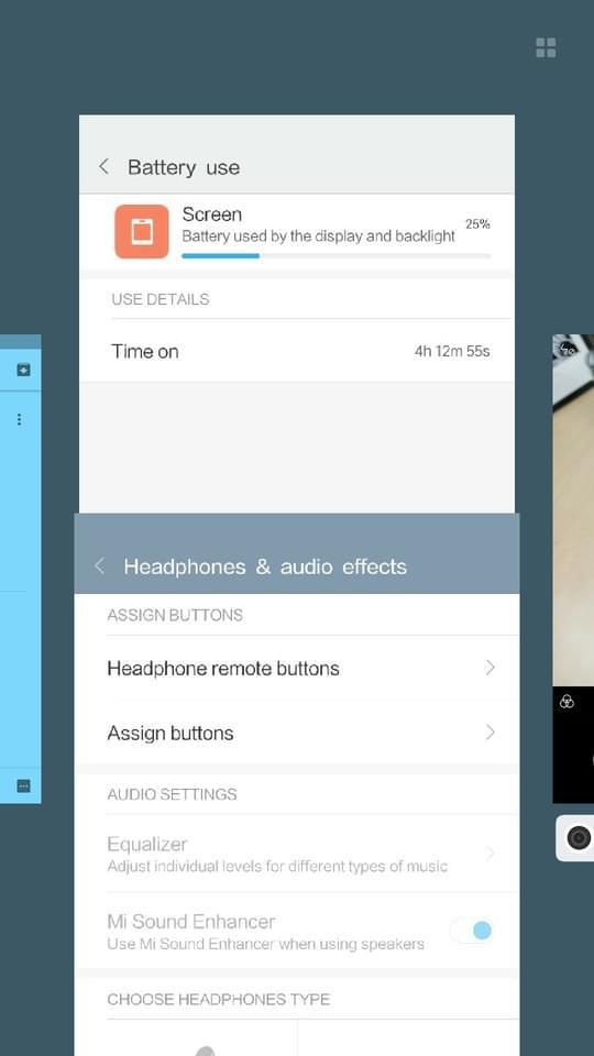 Xiaomi Redmi Pro AH NS screenshots multi task tabs