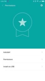 Xiaomi Redmi Pro AH NS screenshots security