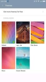 Xiaomi Redmi Pro AH NS screenshots themes 1