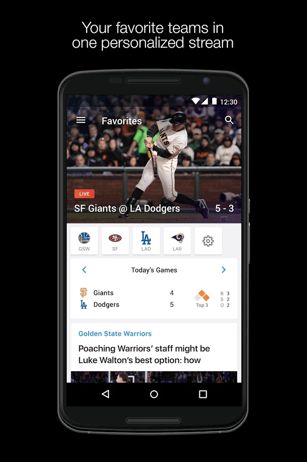 Yahoo Sports app official image 1