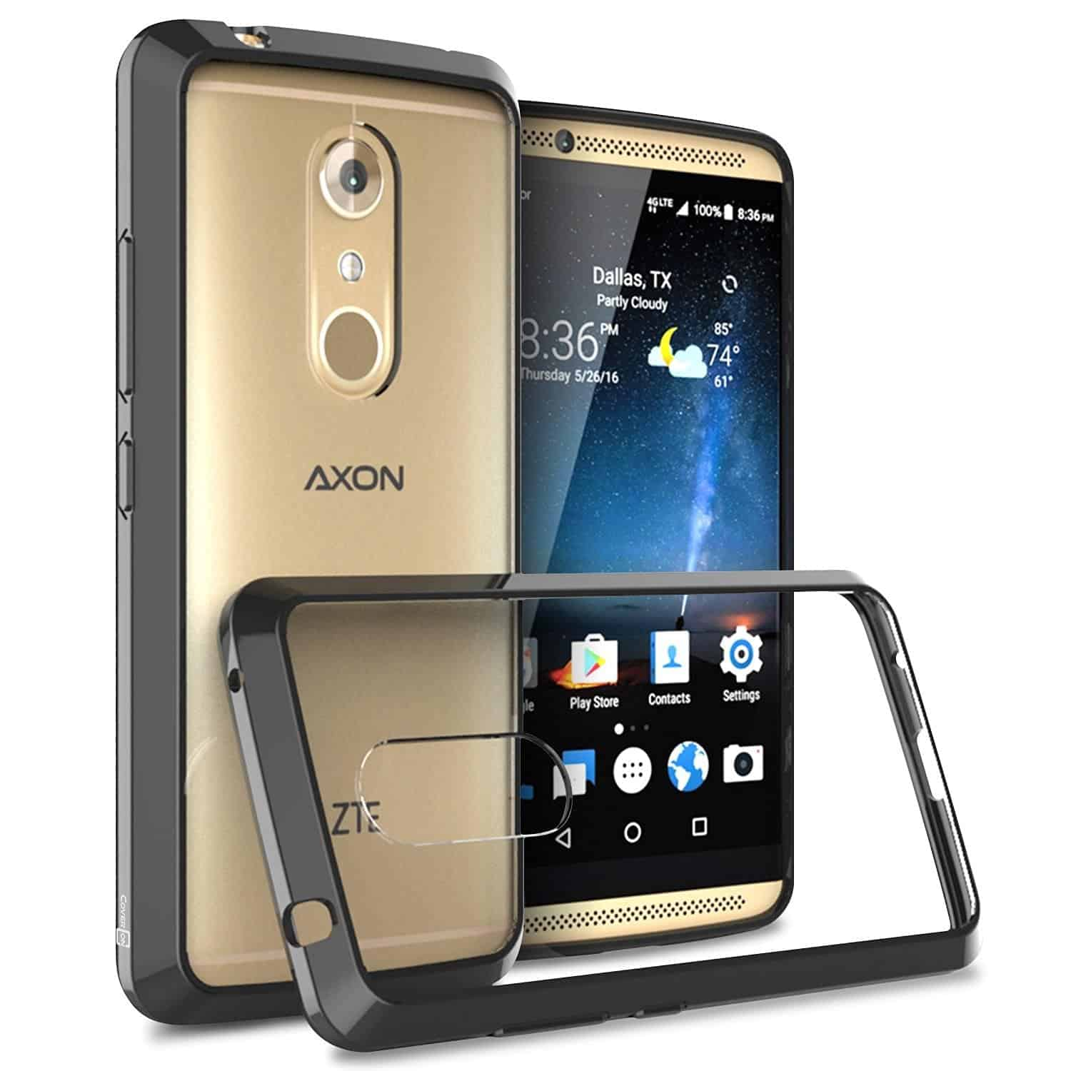 Top 5 Best Cases For The Zte Axon 7