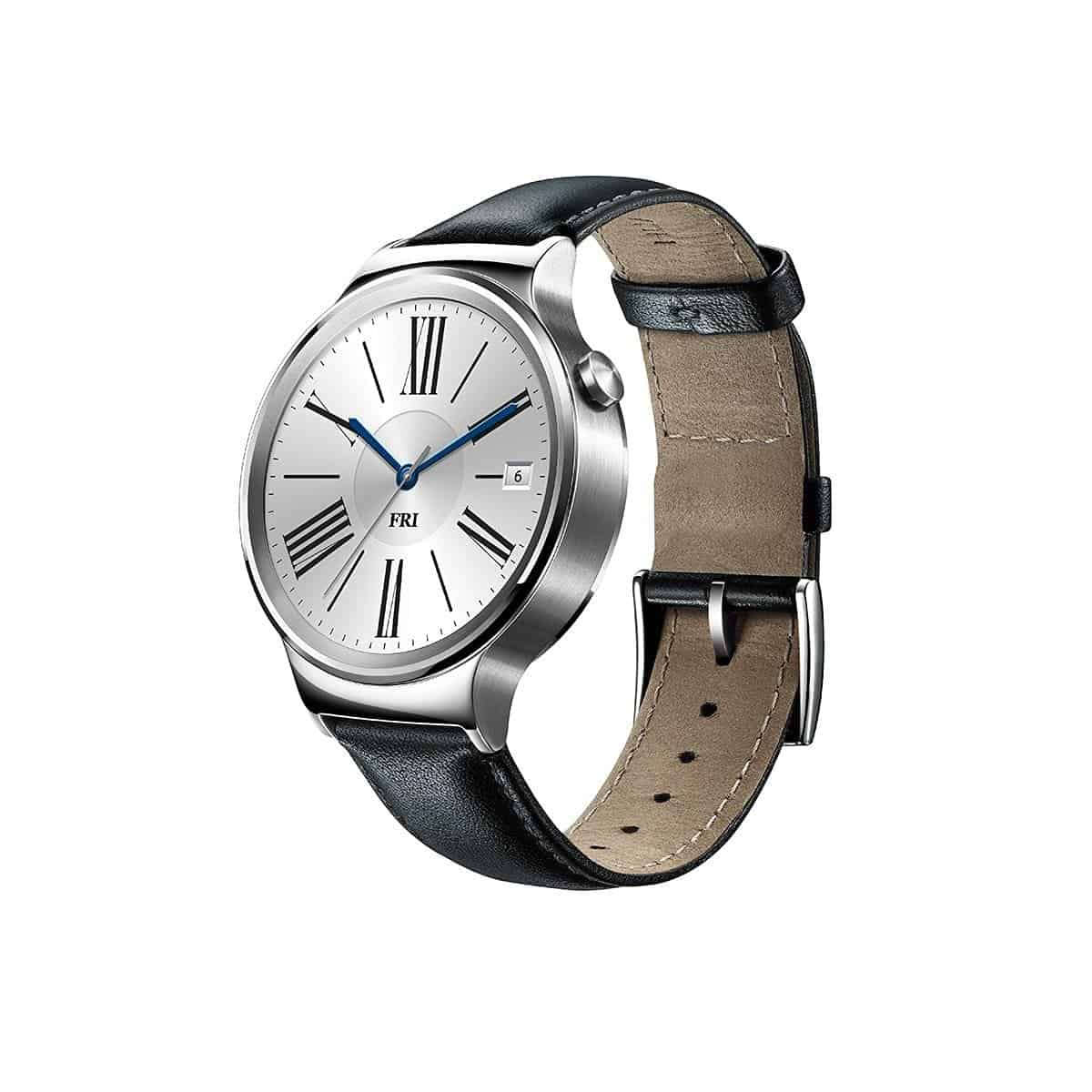 Huawei Watch With Black Suture Leather