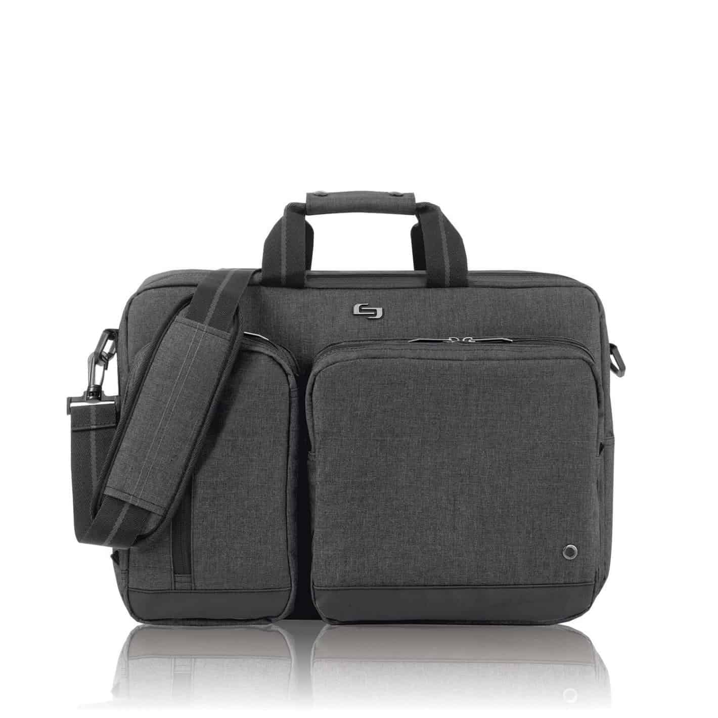 Solo Hybrid Laptop Briefcase Backpack