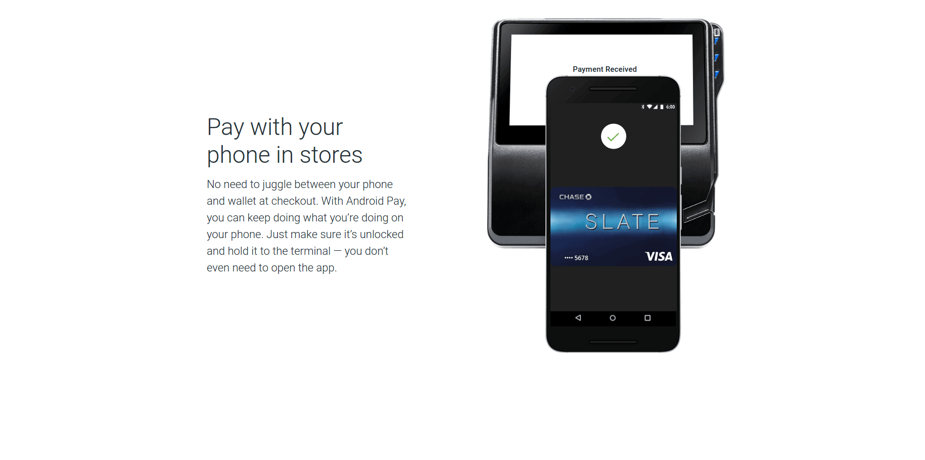 Android Pay new design screenshot 3