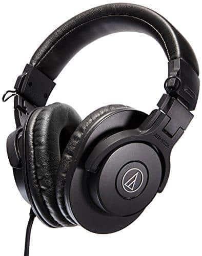 Audio Technica ATH M30x Professional Studio Monitor Headphones 01