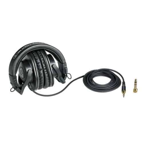 Audio Technica ATH M30x Professional Studio Monitor Headphones 04