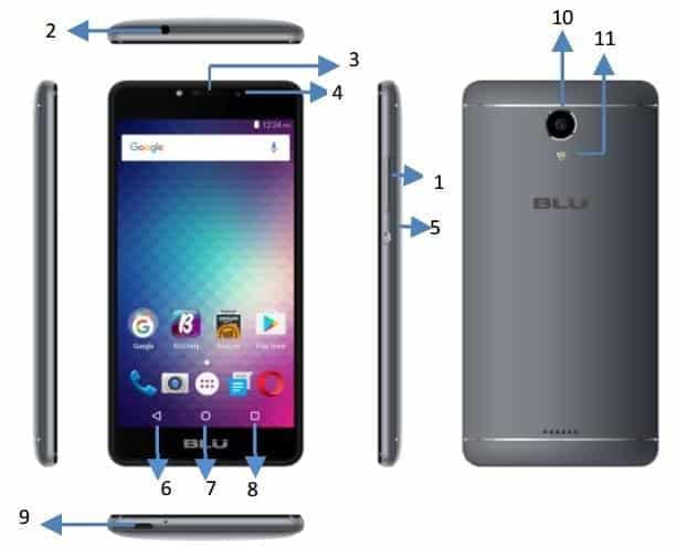 BLU R1 Plus FCC KK 1