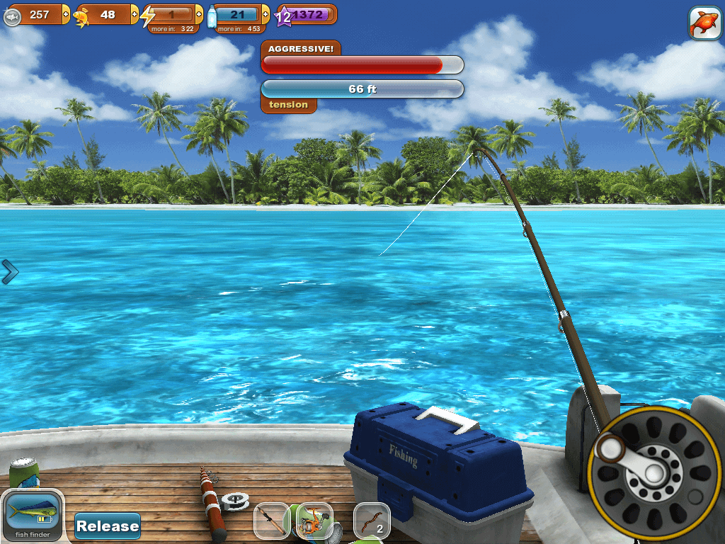 Sponsored game review fishing paradise 3d free for Fish games free